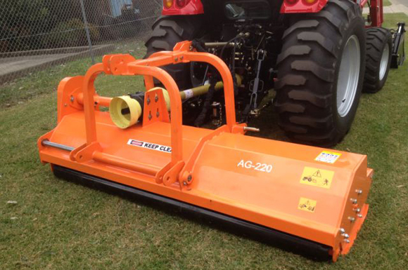 Front&rear flail mower AG