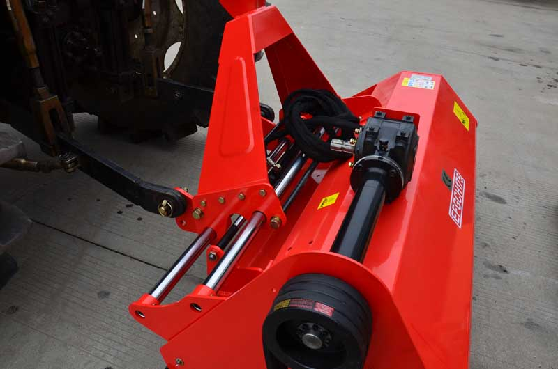 Side-shift heavy-duty flail mower EFGCH
