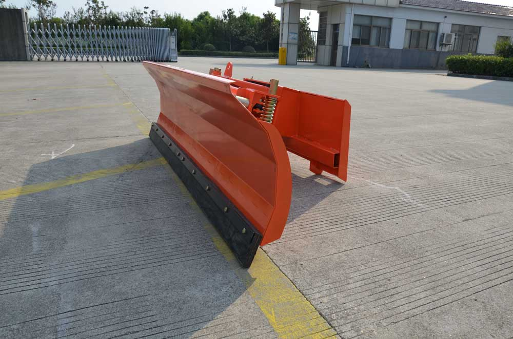 Skid Steer Mounted snow plough